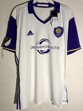 Adidas MLS Jersey Orlando City SC Team White sz 2X