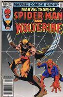 Marvel Team Up #117 ORIGINAL Vintage 1982 Spider-Man Wolverine