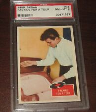 "1959 Fabian ""Packing For A Tour"" #38  PSA 8"