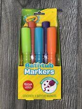 2 Crayola Bath Tub Markers 5Pk