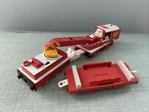 Tomy Trackmaster Thomas The Tank Engine Train Rocky Battery Operated VGC