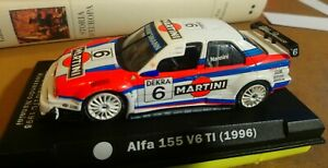 Alfa Romeo 155 V6 Ti ITC 1996 Nannini #6 Martini 1/43 - NO BOX / SCATOLA
