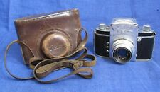 EXC! Camera Ihagee EXA Lens V MERITAR 2,9/50mm. E. Ludwig , Germany