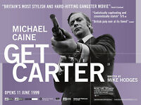 Home Wall Print - Vintage Movie Film Poster - GET CARTER - A4,A3,A2,A1