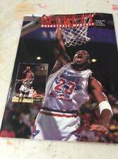 Beckett Basketball Magazine Monthly Price Guide February 1993 Michael Jordan