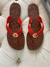 Tory Burch Thora Samba Logo Sandal Flip Flop Size 7 NEW