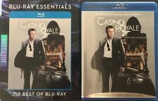 Casino Royale Blu-Ray w/ Blu-Ray Essentials Slipcover Sleeve