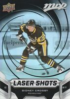 2019-20 Upper Deck MVP Hockey Laser Shots #S-6 Sidney Crosby