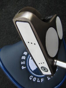 Right handed 2 ball odyssey Black series golf putter.3.0 super stroke grip.WOW.