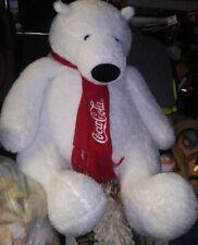 """Coca Cola Polar Bear 25"""" plush"""