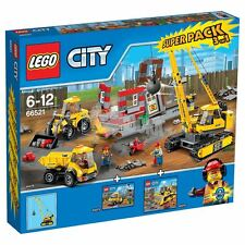 LEGO ® City 66521 Demolition SUPER PACK 60073 60074 60076 NUOVO OVP _ NEW MISB NRFB