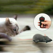 Electronic Rotate Rat Toy Wireless Remote Control Pet Cat Kitty Chasing Mice Toy