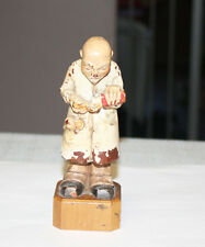 Vintage Toriart Surgeon Operation Successful Hand Carved Wood Anri Italy