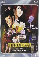 Lupin III Special 1$ Money Wars (1999) DVD Nuovo Sigillato Lupin the Third 3