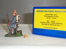 Imperio alemán W1-1427 84TH 85TH Infantería de rodillas esperando para avanzar figura