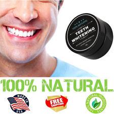 100% Natural Charcoal Teeth Whitening Powder + Detoxifier ORGANIC COCONUT ACTIVA