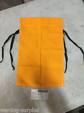 U.S Military Trail Marker Signal Flag Yellow with tie straps Boy Scouts Marker