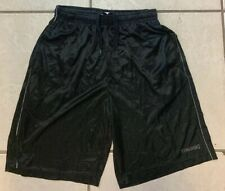 Spalding Men's Size Medium Black Athletic Shorts Sport Wear with pockets