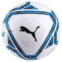 Puma Final 6 MS Training Football Soccer Ball White/Blue
