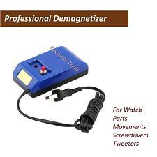 Watch Repair Screwdriver Tweezers Electrical Demagnetizer