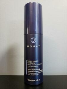Monat Restore Leave-In Conditioner w/ Rejuveniqe 4.5 oz - New! For Dry Hair