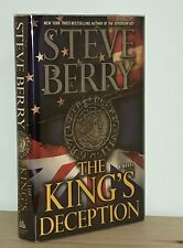 Steve Berry - The King's Deception - SIGNED 1st 1st - Like New - NR