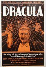 Dracula 11x17 Reproduction Poster Bela Lugosi