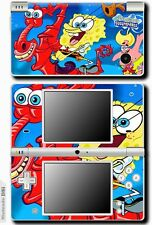 Spongebob Squarepants SKIN STICKER for NINTENDO DSi #3