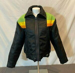 Vintage Arcticwear Arctic Cat Black Insulated Snowmobile Jacket Women's Large