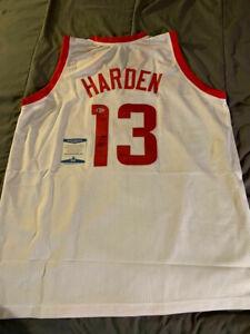 JAMES HARDEN Signed HOUSTON ROCKETS Jersey AUTO BECKETT COA NICE! FAST! $$