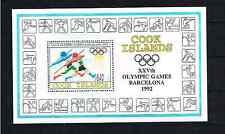 Briefmarken Cookinseln Block 185 Mit 1259 ** Postfrisch Olympische Spiele #rx906