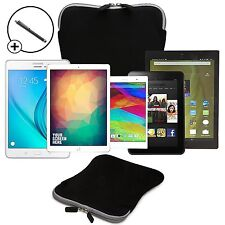 "Forefront Cases 9"" / 10"" Travel Pouch Neoprene Tablet Sleeve Case Cover Stylus"