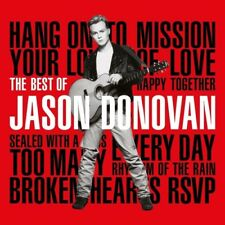 The Best of Jason Donovan Music CD 2017 Delayed Until Feb 2018
