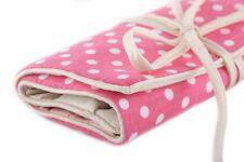 Pink Spot Jewellery Roll