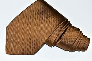 """BROOKS BROTHERS Brown  SILK Men's Neck Tie W: 4  """" by L:58 """" made in USA"""