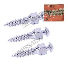 3pcs Dental Mini implants Micro Screws orthodontics Titanium 14 sizes choice