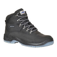 PortWest Men Steelite All Weather Boot S3 WR Black Various Size FW57