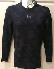 Under Armour Compression Shirt ColdGear Navy Blues Mens Medium New With Tags