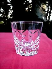 SAINT LOUIS CAMARGUE OLD FASHIONED WHISKEY GLASS VERRE GOBELET A WHISKY CRISTAL
