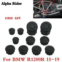 Frame Hole Cover Caps Plugs Wing Arm Cap Kit for BMW R1200 R 2015-2019 2018 2017