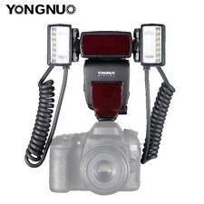 Yongnuo YN24EX Macro Master TTL Speedlite W/ 2pc Flash Head 4pc Rings for Canon