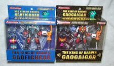NEW YUJIN NEO KING OF BRAVES GAOGAIGAR SERIES #1 & #2 GAOFIGHGAR, USA SELLER