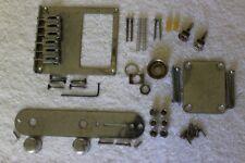 Relic Aged Chrome Humbucker Bridge Telecaster Body Hardware Set - Fender Tele