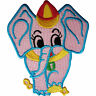 Elephant Patch Iron Sew On Clothes Embroidered Badge Animal Embroidery Applique