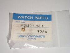 Seiko crown 40M94NA1 part 726A gold tone original sealed packet / couronne Krone