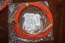 10 - LC/SC 30 Ft Multi-Mode Patch Fiber Optic Cable 62.5/125 Orange