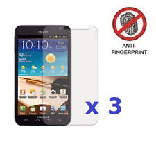 3 x Anti-Glare Screen Protector Shield for Samsung Galaxy Note LTE SGH-i717
