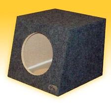 "12"" Sealed Speaker Sub Box R/T Enclosure Hatchback Slant Face MADE IN THE USA"