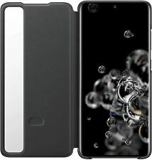 GENUINE SAMSUNG GALAXY S20 ULTRA 5G CLEAR VIEW COVER FLIP CASE WALLET BLACK