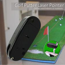 Mini Black Putter Laser Pointer Putting Training Aim Line Corrector Improve Tool
